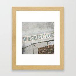 Washington St., New Orleans Framed Art Print