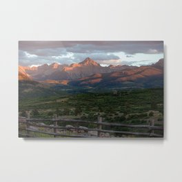 Mount Sneffels Metal Print