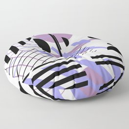 Shape Central - Geometric Abstract Pattern Floor Pillow