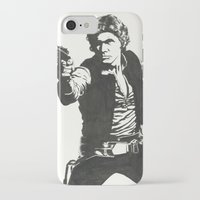 han solo iPhone & iPod Cases featuring Han Solo by Johannes Vick