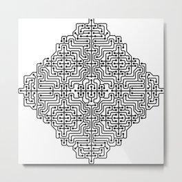 PCB Digital [02] Metal Print