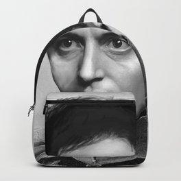 Al Pacino Scar Face General Portrait Painting   Fan Art Backpack