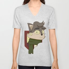 Penfold - Head Shot Unisex V-Neck