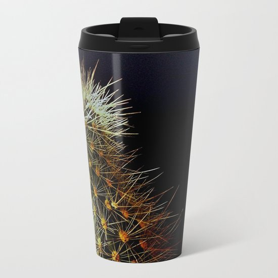 Cacti, Strength From A Deep Reservoir Metal Travel Mug