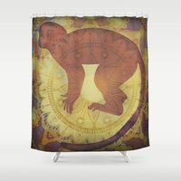 journey Shower Curtains featuring Journey by SpaceFrogDesigns
