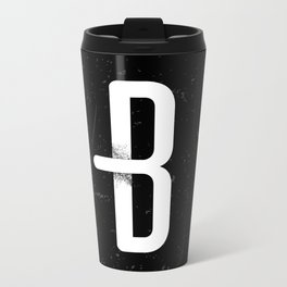 B 001 Metal Travel Mug