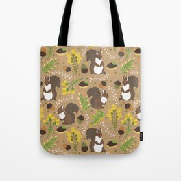 Chocolate squirrels Tote Bag