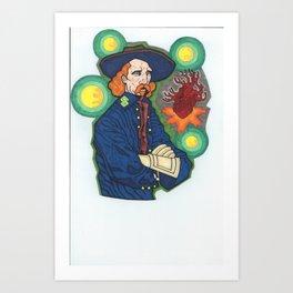 Captan GS Art Print