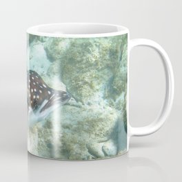 Watercolor Ray, Spotted Eagle Ray 19, St John, USVI Coffee Mug