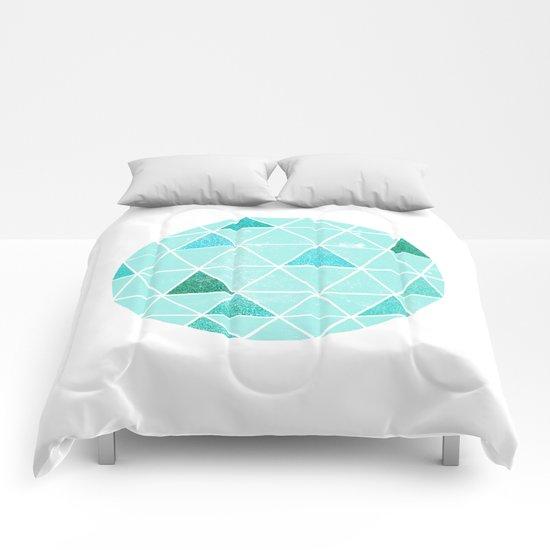 Geodesic 6 Comforters