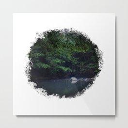 Window to the Stream Metal Print