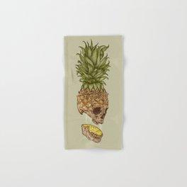 Pineapple Skull Hand & Bath Towel