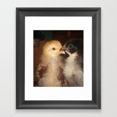 LOVELYCHICKS Framed Art Print