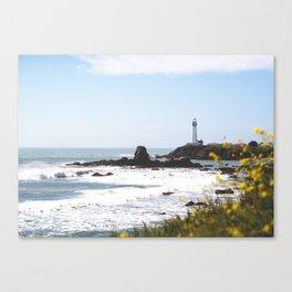Springtime On The West Coast Canvas Print