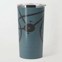 Grey Bike by Friztin Travel Mug