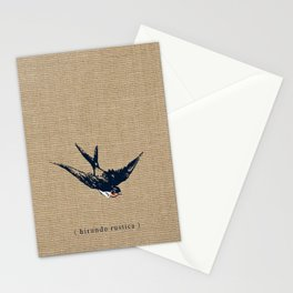 Barn Swallow Stationery Cards