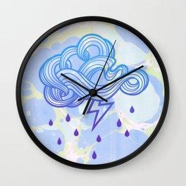 Cloud Pop Wall Clock