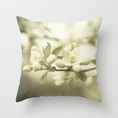 Pearly Hues Throw Pillow