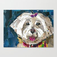 fancy Canvas Prints featuring Fancy  by Maritza Hernandez