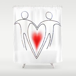 Love Who You Love Shower Curtain