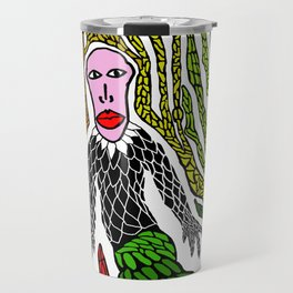 The Genius Birdman no background Travel Mug