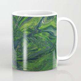 Swirling Jade Coffee Mug