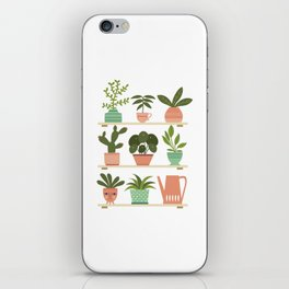 Plant Shelves iPhone Skin