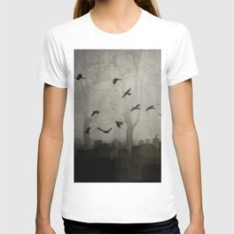 Gothic Crows Eerie Ceremony T-shirt