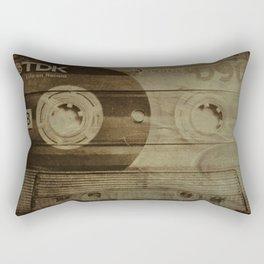 Life on tape Rectangular Pillow