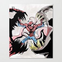 Really Bad Day... Canvas Print