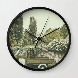 Italian country life Wall Clock