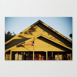 neighborhood iv (americana) Canvas Print