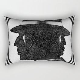 Edward Mordrake Rectangular Pillow