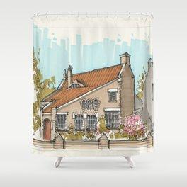 Magic House In Blerick Shower Curtain