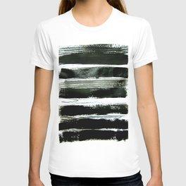 black strokes T-shirt