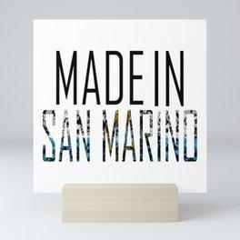 Made In San Marino Mini Art Print