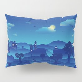 Fairytale Dreamscape Pillow Sham