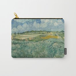 Plain at Auvers with rain clouds Carry-All Pouch