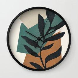 Geometric Shapes 22 Wall Clock