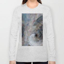 Abalone Abstract Long Sleeve T-shirt