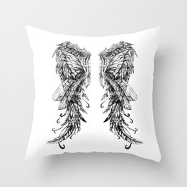 "Collection "" Nightmares"" impression ""Spirit Wings"" Throw Pillow"
