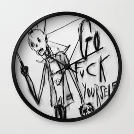 "Go ""F"" Yourself Wall Clock"