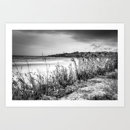 Beach in Ogunquit Art Print