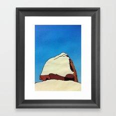 Trencrom. Framed Art Print