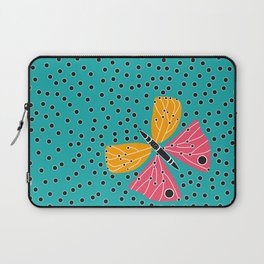 Butterfly with dots Laptop Sleeve