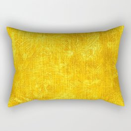 Freesia Oil Painting Color Accent Rectangular Pillow