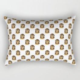 Michelle (white background) Rectangular Pillow