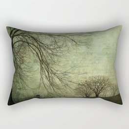 Mysterious Trees Rectangular Pillow