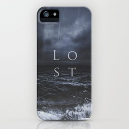 Lost in the sea iPhone Case