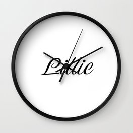 Name Lillie Wall Clock